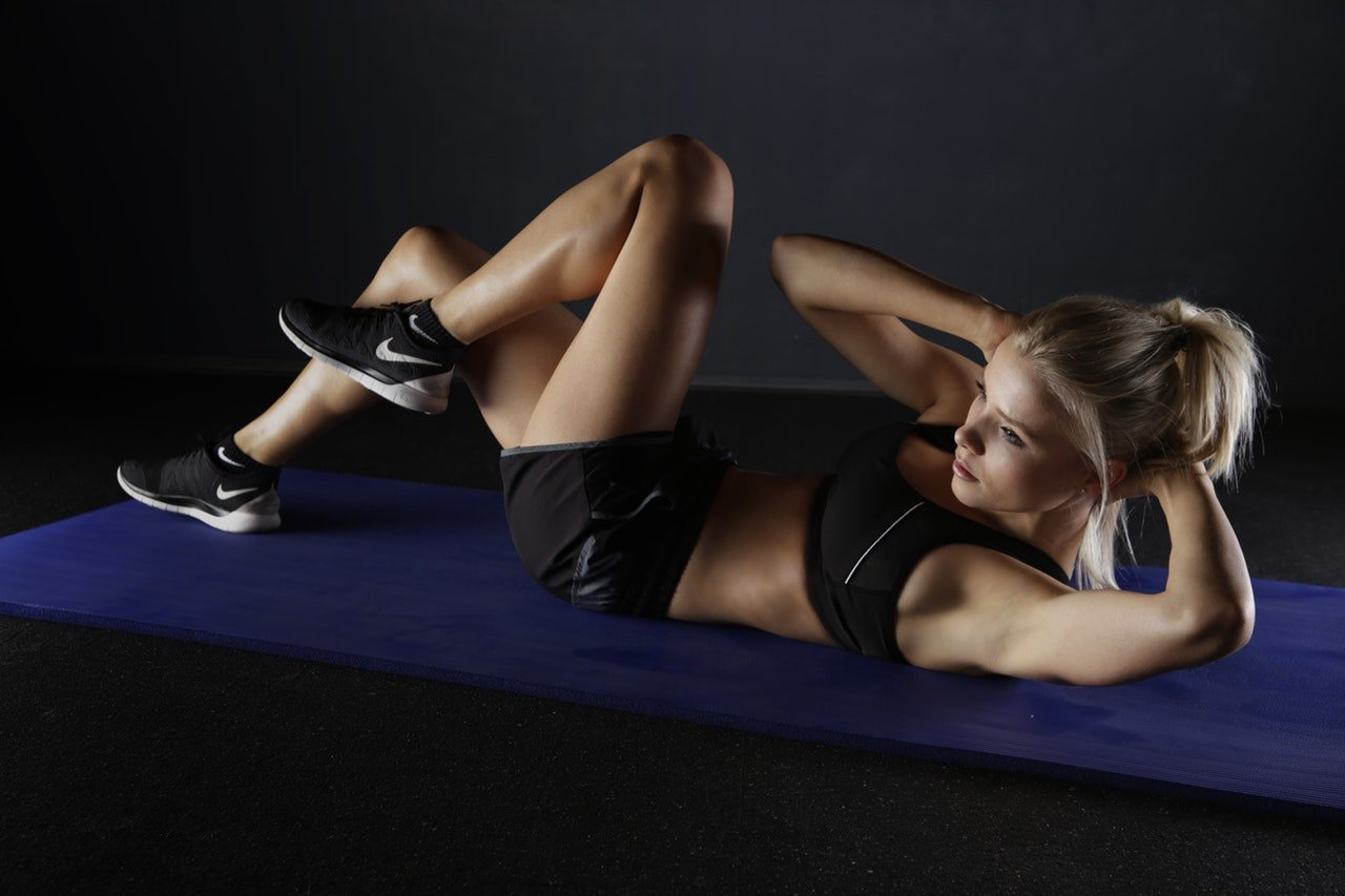 10 Min Home Abs Workout Before and After